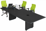 12' Custom Rectangular Conference Tables w/ Power Modules  � Other sizes available