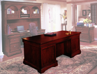 "Rue De Lyon Furniture Series-72"" Executive Desk"