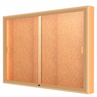 Sliding Door Wall Displays