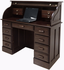 Solid Oak Roll Top Laptop/Notebook/Tablet Desk