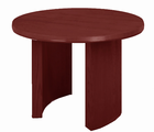 """42"""" Solid Oak Round Table with Bullnose Edge"""