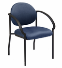 Stackable Chair with Flared Armrests