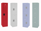 Steel Storage Lockers in 17 colors! - Single Tier Locker