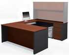 The Corporate Suite - U-Shaped Workstation