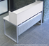 TrendSpaces White Reception Desk - 66