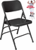 Triple-Brace Premium Steel Folding Chair