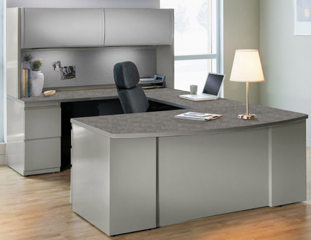 Steel And Laminate Desk Series In Stock