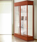 "77""H Varsity Series Display Cases - 48"" Wide Hinged Door Display Case"