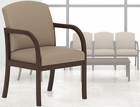 Weston Transitional Reception Seating - Arm Chair