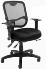WorkDay Black Multi-Function Ergo Chair