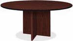 "60"" Round X-Base Custom Conference Table"