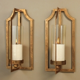 Antique Gold Wall Sconces