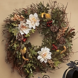 Autumn Spice Scented Wreath