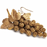 Beaded Grapes Ornament