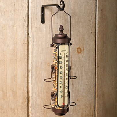 Bird Feeder Thermometer