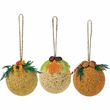 Birdseed Ornaments