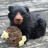 Black Bear with Bee Skep by Byers� Choice