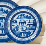 Blue Canton Salad Plate