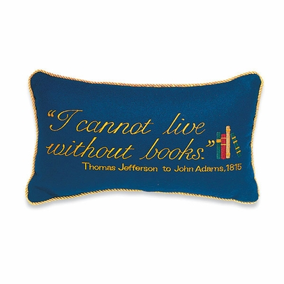 Book Quote Pillow