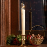 Brass Window Candle