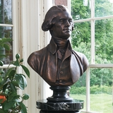 Bronze Jefferson Bust