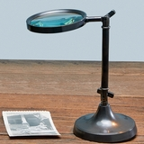 Bronze Magnifying Stand