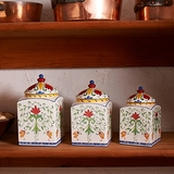 Earthenware Canister Set