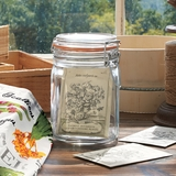 Canning Jar with Seeds
