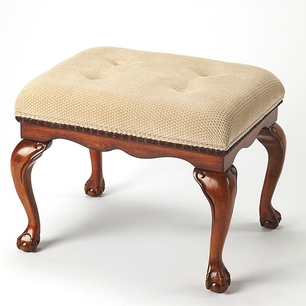 Classic Upholstered  Bench