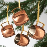 Copper Cup Ornaments
