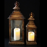 Copper Lantern Set