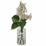 Cream Lilac in Glass Bottle