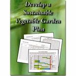 Develop a Sustainable Vegetable Garden Plan DVD