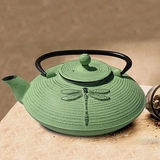 Dragonfly Cast-Iron Teapot