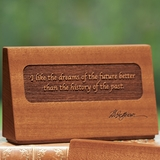 Dreams of the Future Quote Desk Plaque