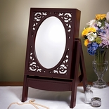 Easel Mirror Jewelry Box