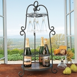 Five-Bottle Wine Caddy