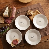 Food For Thought Appetizer Plates
