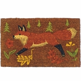Forest Fox Doormat