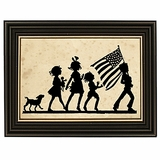 Fourth of July Silhouette