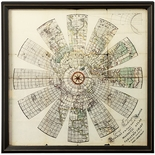 Framed �Magnetic Atlas� Print