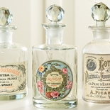 "French Apothecary ""Savon Rose"" Bottle"