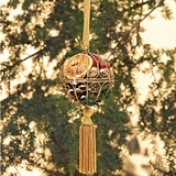 Gold Sparkle Pomander Potpourri Ornament