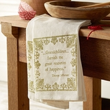 Grandchildren Quote Dish Towels