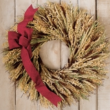 Harvest Glow Wreath