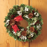 Holiday Fields Wreath