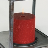 Hollyberry Pillar Candle