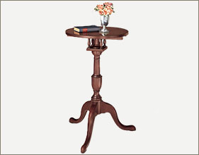 Mahogany Candle Stand Table