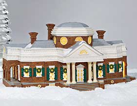 Dept. 56 Lighted Monticello