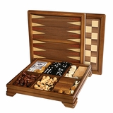 Inlaid Classic Games Set